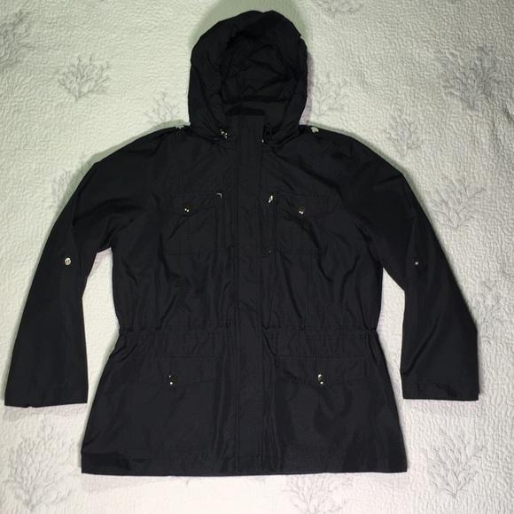 Style & Co Jackets & Blazers - Style & Co  sport /rain jacket petite size